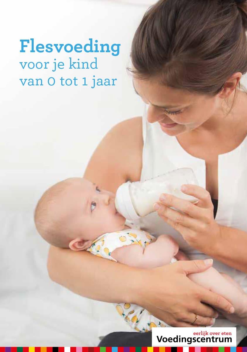 't Kleine Wonder - Verloskundigenpraktijk Lelystad - Folder Flesvoeding