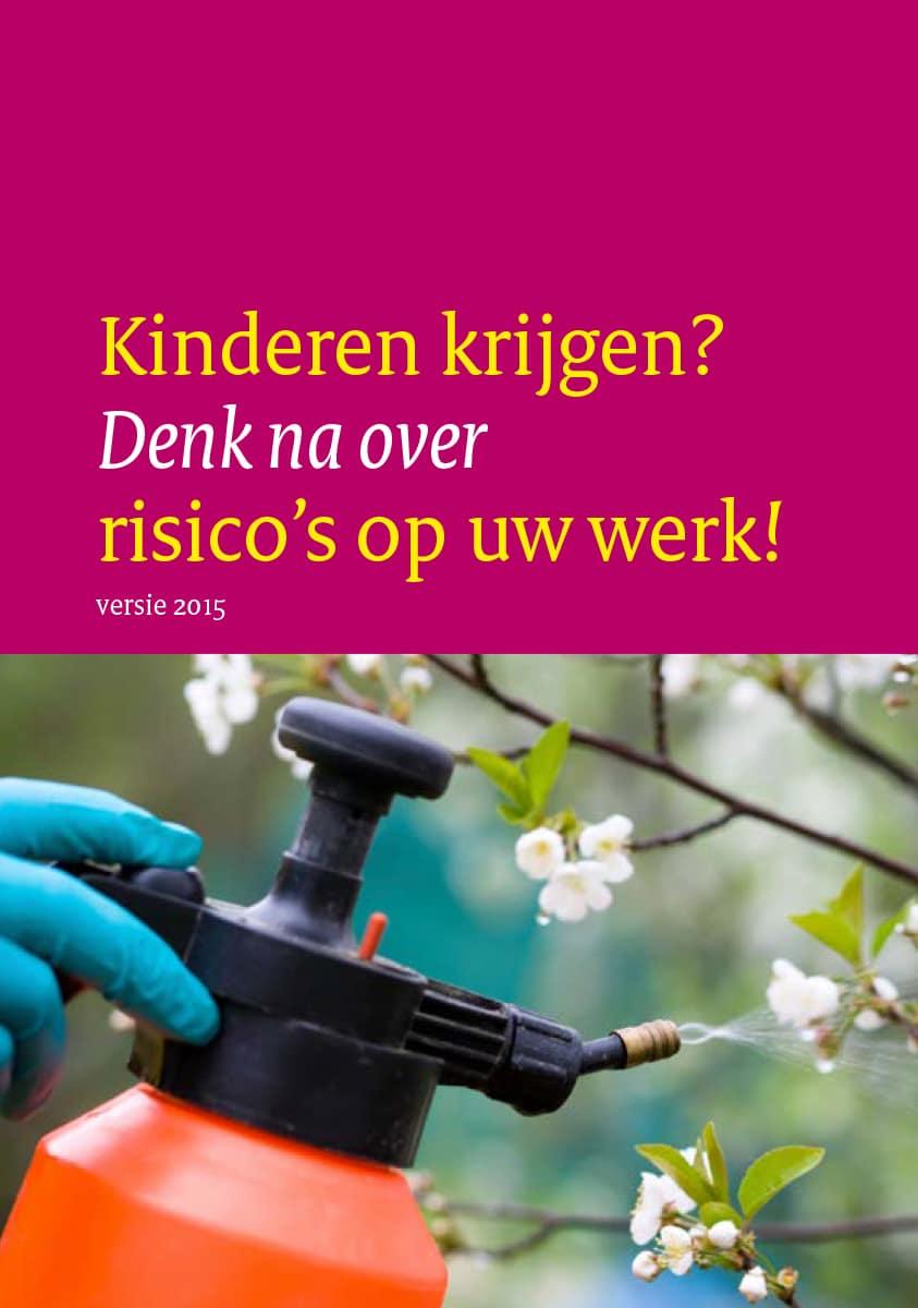 't Kleine Wonder - Verloskundigenpraktijk Lelystad - Folder Kinderen krijgen - Denk na over risicos op uw werk