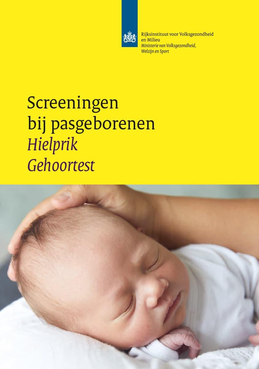 't Kleine Wonder - Verloskundigenpraktijk Lelystad - Folder Screening pasgeborenen